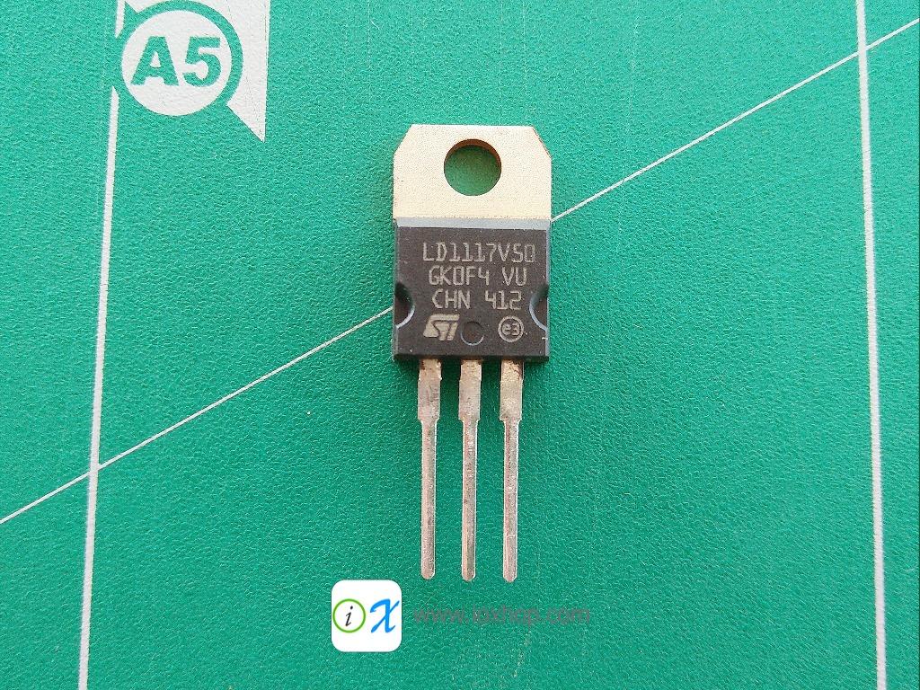 LD1117V50 5V 800mA Voltage Regulator