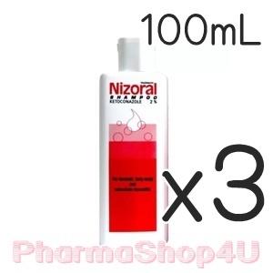 (ซื้อ3 ราคาพิเศษ) NIZORAL ไนโซรัล แชมพู ขนาด 100ml แชมพูขจัดรังแค มีประสิทธิภาพใน การป้องกันรังแคได้สูงกว่าแชมพูขจัดรังแคทั่วไป