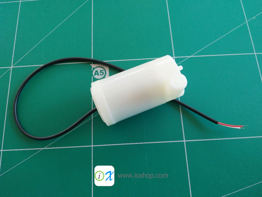 Mini Motor Pump DC 3-6V 120L/H Low
