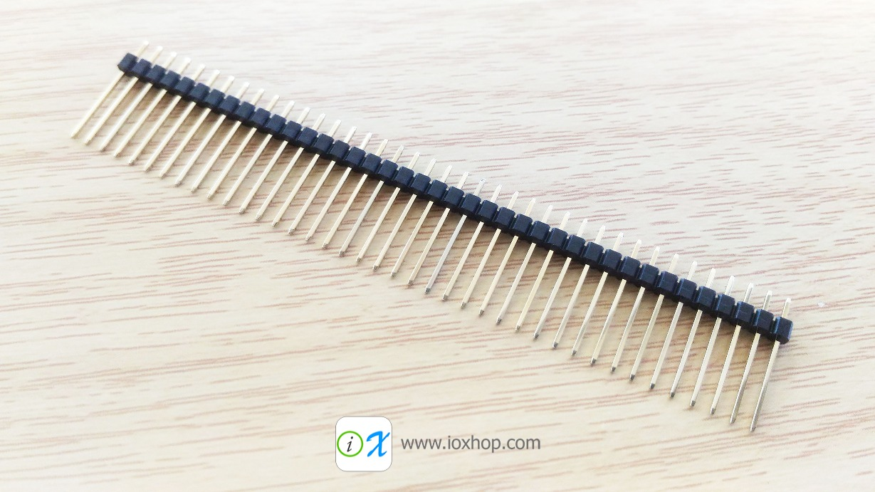 40 Pin 2mm Male Pin Header Long connector