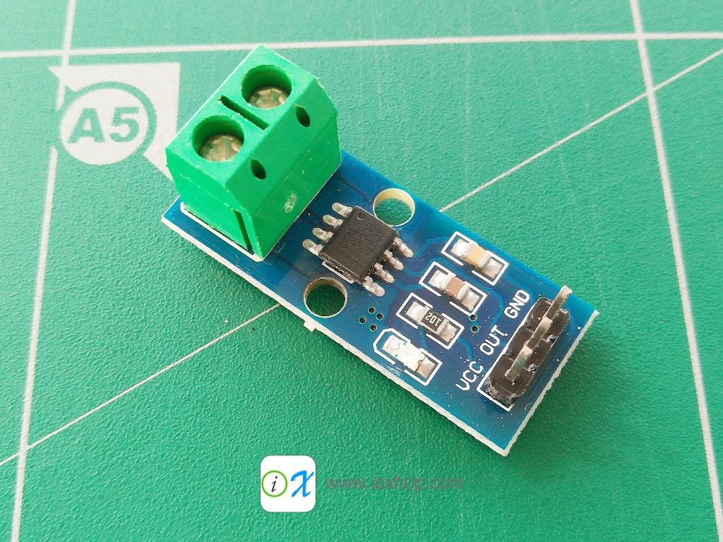 20A Hall Current Sensor Module ACS712