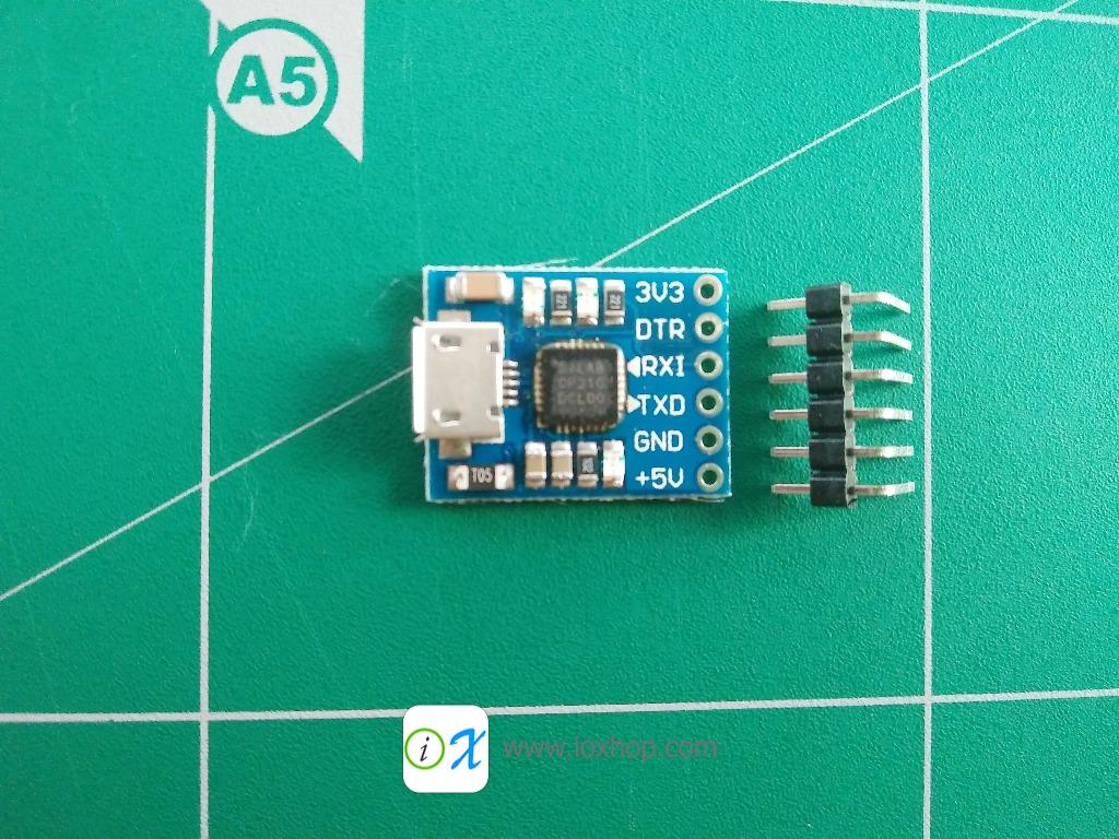 CJMCU CP2102 USB to UART TTL Module