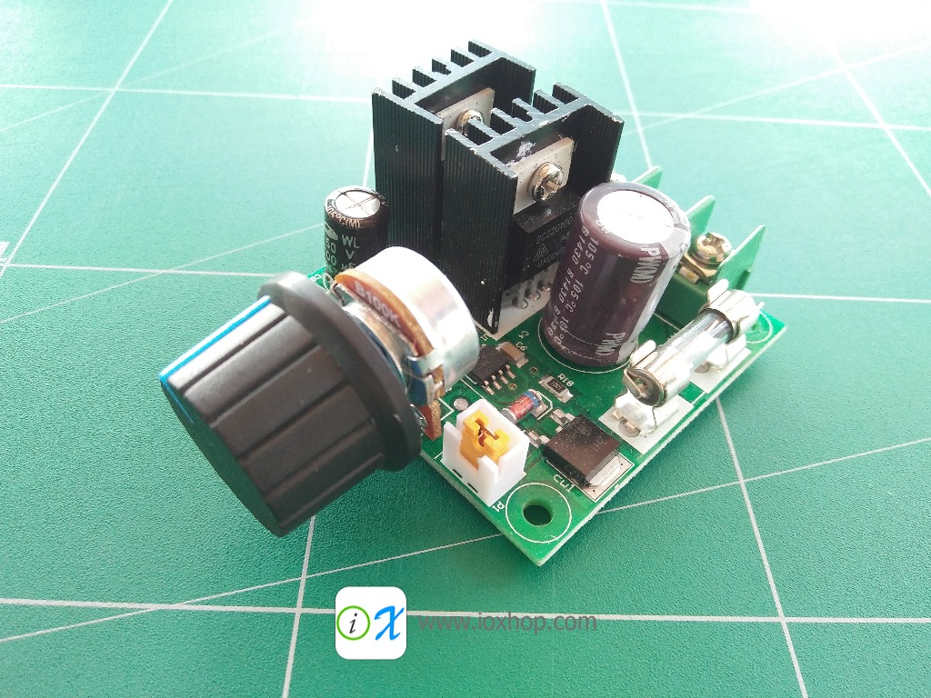 12-40V 10A PWM DC Motor Speed Controller