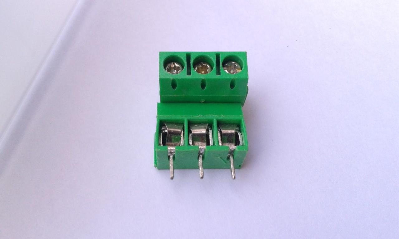 Terminal Block 3 Pin x2
