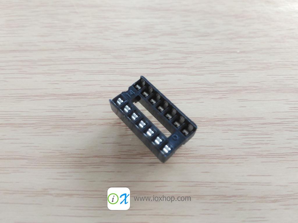 ซ็อกเก็ตไอซี 14 ขา DIP14 DIP-14 IC Socket
