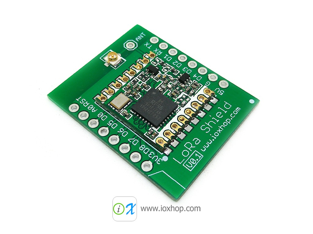 915MHz LoRa Shield For WeMos D1 Mini
