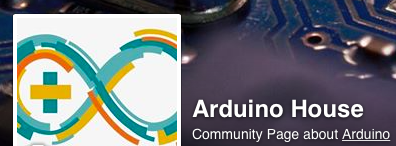 Arduino House on Facebook