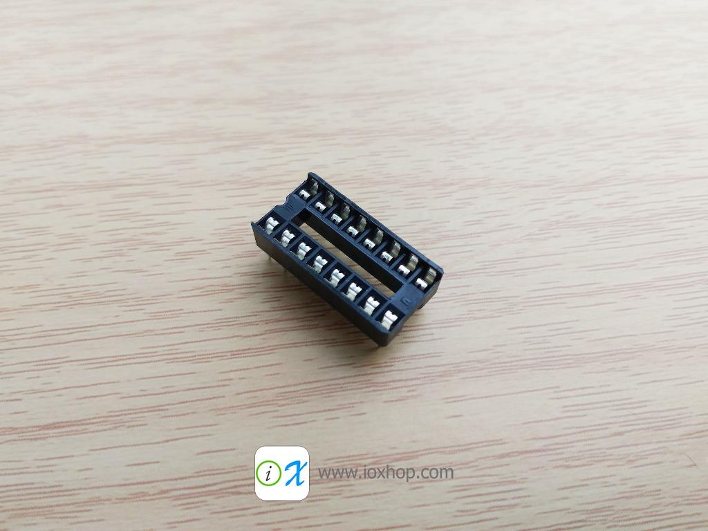 ซ็อกเก็ตไอซี 16 ขา DIP16 DIP-16 IC Socket