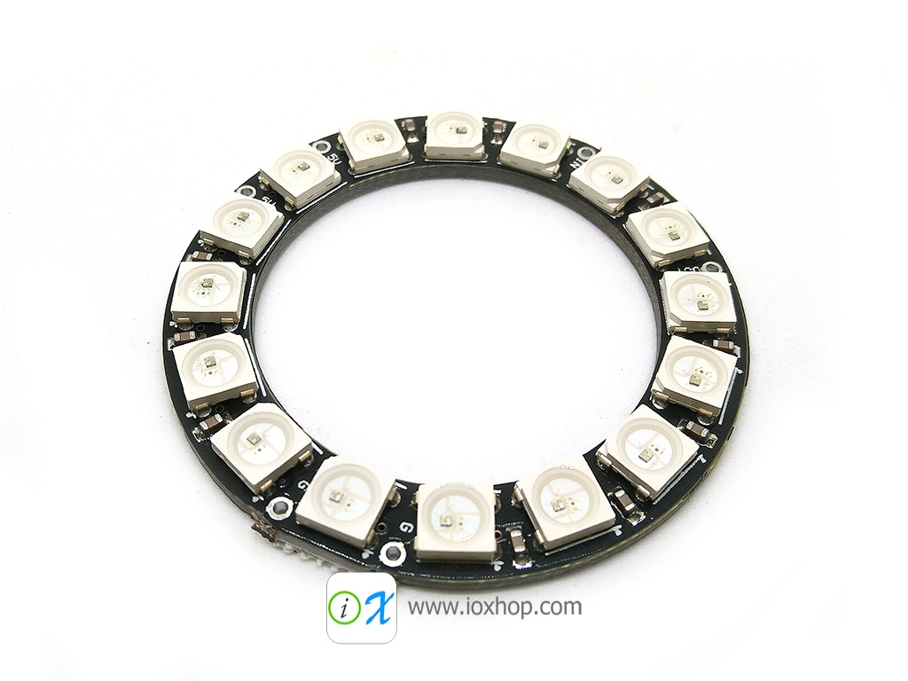 NeoPixel Ring 16 Bit WS2812 5050 RGB LED
