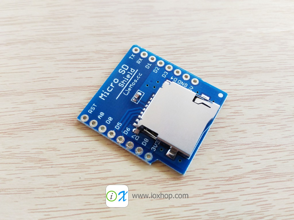 Micro SD Shield for WeMos D1 mini