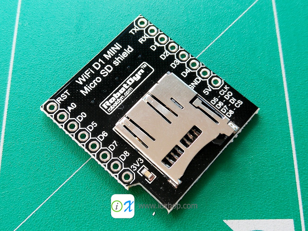 RobotDyn Micro SD card Shield for WeMos D1 mini