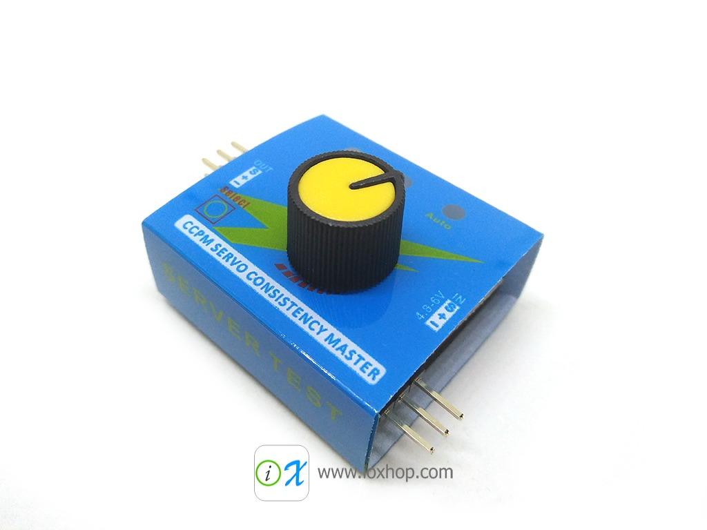 Multi Servo Tester 3CH ECS CCPM Meter