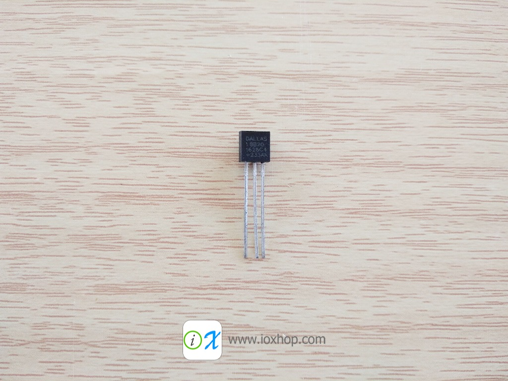 DS18B20 TO92 1 Wire Temperature sensor
