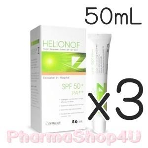 (ซื้อ3 ราคาพิเศษ) Helionof Z SPF 50+ PA++ 50 ml. เฮลิโอนอฟ แซด เอสพีเอฟ 50+ พีเอ++ ผลิตภัณฑ์ป้องกันแสงแดดสำหรับผิวหน้า