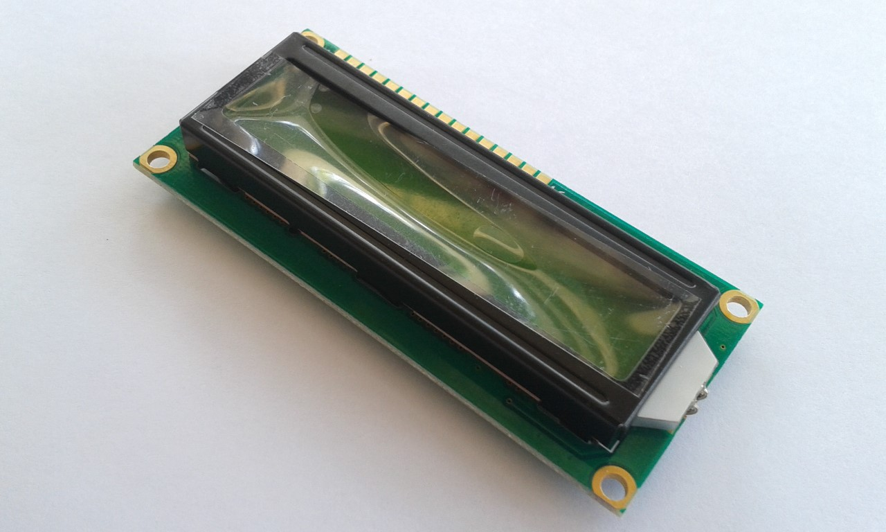 จอ LCD 16x2 สีเขียว 1602 LCD Module with LED Green Backlight