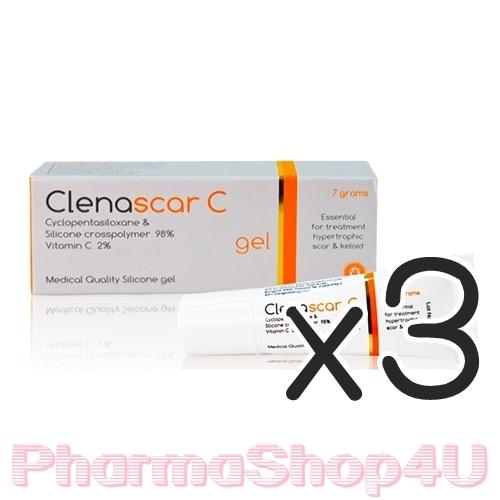 (ซื้อ3 ราคาพิเศษ) ClenaScar C Gel สูตรเดียวกับ Dertmatix Ultrea 7 G ช่วยทำให้แผลเรียบเนียน และนุ่มลง เนื้อเจลบางเบา ไม่แต่งสีและกลิ่น