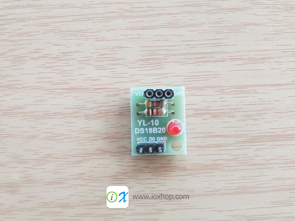 DS18B20 Temperature Sensor Shield Module