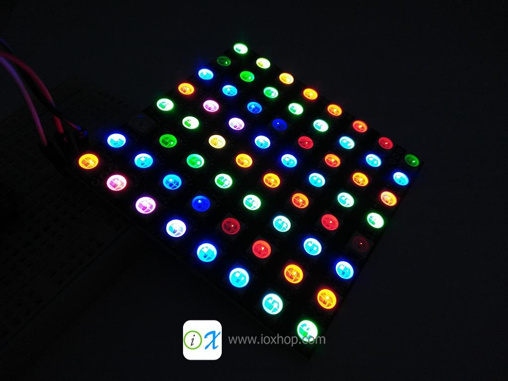 NeoPixel NeoMatrix 8x8 64 Bit WS2812 5050 RGB LED