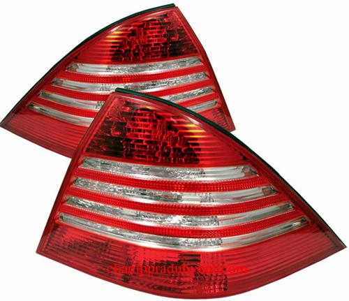 ไฟท้าย BENZ S-CLASS W220 98-05 ขาวแดง LED
