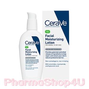 CeraVe PM Facial Moisturizing Lotion 89mL โลชั่นบำรุงผิวหน้า เสริมสร้างเซลาไมด์ เพื่อผิวแข็งแรง ไอเทมสุดฮิตที่ทุกคนกำลังตามหา
