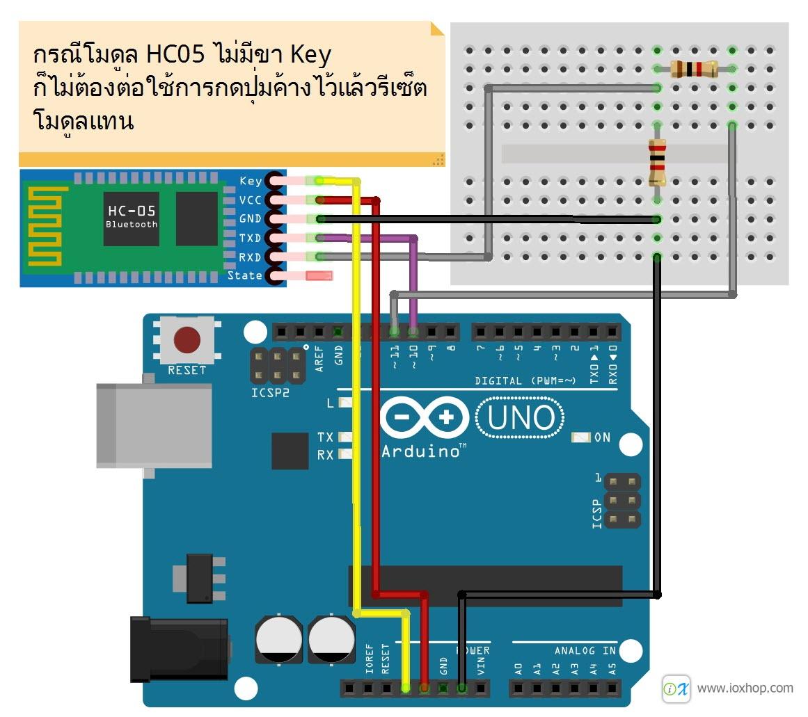 การใช้งาน Bluetooth module HC05 แบบละเอียด : Inspired by