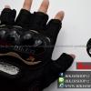 ถุงมือpro-biker (ครึ่งนิ้ว) สีดำ (ราคาพิเศษ)