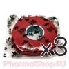(ซื้อ3 ราคาพิเศษ) (สีแดง) เทปไก่ชน เดือยไก่ ผ้าพันล๊อค ตราสิงค์ทอง 1 ม้วน 1/2นิ้ว*10หลา คุณภาพดี เหนี่ยวนุ่ม สีสันสดใส