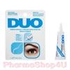 Duo Striplash Adhensive 7g. Clear/White กาวติดขนตาปลอมสีขาว กันน้ำ กันเหงื่อ สินค้าคุณภาพ จากอเมริกา เนื้อสีขาว แต่ไม่ทิ้งคราบ (พอแห้งจะเป็นโปร่งแสง)