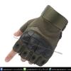 ถุงมือวินเทจ ครึ่งนิ้ว สีเขียว