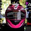 หมวกกันน็อคRider Viper สี Racing Pink