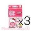 (ซื้อ3 ราคาพิเศษ) SOS พลาสเตอร์ HELLO KITTY PE 1.9*7.2 cm กล่อง 8ชิ้น พลาสเตอร์ ลิขสิทธิ์แท้ จาก ซานริโอ้ มี4ลาย สีสวยสด ลายโดนใจ วัยรุ่น และนักสะสม
