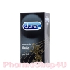 Durex Kingtex (กล่องใหญ่ 12ชิ้น) ถุงยางอนามัยดูเร็กซ์ คิงเท็ค ผิวเรียบ เพื่อความมั่นใจสูงสุด ขนาด 49มม.