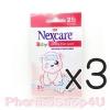 (ซื้อ3 ราคาพิเศษ) 3M NEXCARE แผ่นเจลลดไข้ หมีน้อย สำหรับเด็กเล็ก 2ชิ้น/ซอง ช่วยลดความร้อน บรรเทาอาการไข้ด้วยวิธีธรรมชาติ ไม่เหนียวเหนอะหนะ ติดแน่น ไม่หลุดเลื่อน