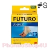 FUTURO Ankle Support (Size S) ฟูทูโร่ รักษาสภาพข้อเท้าที่บาดเจ็บ เพื่อความกระชับและช่วยควบคุมการเคลื่อนไหว ระบายอากาศ ไม่อับชื้น (1ชิ้น/กล่อง)