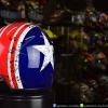 หมวกกันน็อคคลาสสิก 5เป๊ก (มีแว่น) สี Star Dust น้ำเงิน