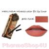 Mei linda Miracle Color Fit Lip Liner #02 Coral เมลินดา ดินสอเขียนขอบปาก 1.5 กรัม