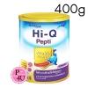 (แพ้นมวัว) HI-Q Pepti 400g ไฮคิว เปปติ นมผงสำหรับทารกแรกเกิดถึง 1ปี โปรตีนเวย์ ที่ย่อยสลายให้เป็นโปรตีนขนาดเล็ก สามารถใช้ดื่มแทนนมวัวและใช้ปรุง
