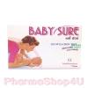Baby Sure ชุดตรวจสอบระยะการตกไข่แบบหยด LH Ovulation 1 กล่อง มี 5 Test ถ้าแสดงสีชมพูเข้มชัดเจน เเสดงว่าใกล้ไข่ตก