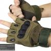 ถุงมือวินเทจ ครึ่งนิ้ว มีการ์ด สีเขียว