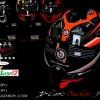 หมวกกันน็อคBilmola Defender D-Camo Orange-Black