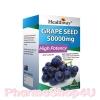 Healthway Grape Seed 50,000mg 100เม็ด เพื่อผิวขาวใสกับองุ่นสกัดจากธรรมชาติ 100% ลดฝ้า กระ ยับยั้งการสร้างเม็ดสีเมลานิล
