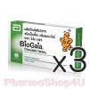 (ซื้อ3 ราคาพิเศษ) Biogaia Tablets Probiotic 10เม็ด ไบโอ กาย่า วันละ 1 เม็ด ปรับสมดุลลำไส้ แก้ท้องเสีย ลดการปวดท้องเกร็ง