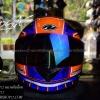 หมวกกันน็อคReal รุ่นHornet-Corsa สีส้ม-น้ำเงิน