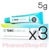 (ซื้อ3 ราคาพิเศษ) TOMEI Clindai Gel 5g โทเมอิ คลินไดเจล แต้มสิวในรูปแบบเจล ใช้สําหรับลดอาการสิวอักเสบ ฆ่าเชื้อแบคทีเรีย P.acnes ที่เป็นสาเหตุหลักของสิว