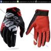 ถุงมือวิบากRidefit สีดำ-แดง