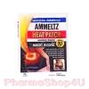 Ammeltz Heat Pad แผ่นประคบร้อน 1ชิ้น ลดเกร็ง ลด ปวดกล้ามเนื้อ ลดบวม เพิ่มการไหลเวียนโลหิต ห้อเลือดฟกช้ำ