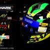 หมวกกันน็อคShark S600 Play Volt KGY