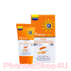 (Ivory-เนื้อ) Minus Sun Facial Ultra Sun Protection SPF50+ PA+++ 15g บอกลาความหนา ความมัน ปกป้องผิวด้วยสัมผัสที่ลื่น บางเบา เกลี่ยง่าย เป็น Make-Up Base ก่อนแต่งหน้า ช่วยให้ใบหน้า เนียน เรียบ ใส