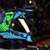 หมวกกันน็อคReal รุ่น VENGER KAZAR สีน้ำเงิน-เขียว