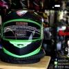 หมวกกันน็อคRider รุ่น R1 สีเขียว-ดำ